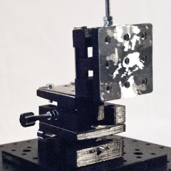 Building a Low-Cost XYZ Microscopy Stage